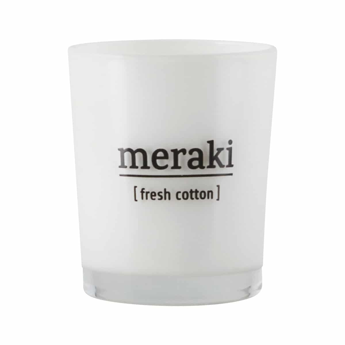 meraki geurkaars fresh cotton