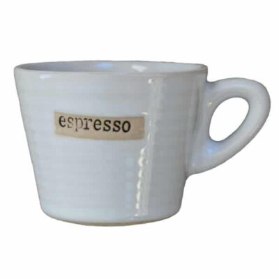 broste copenhagen espresso kopje ivoor wit