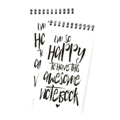 winkeltje van Anne notitieboekje happy to have this notebook