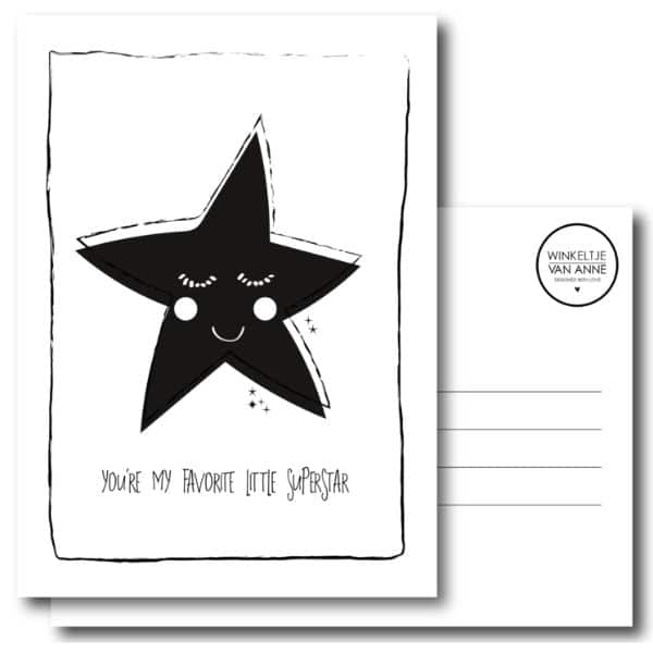 winkeltje van anne kaart little superstar
