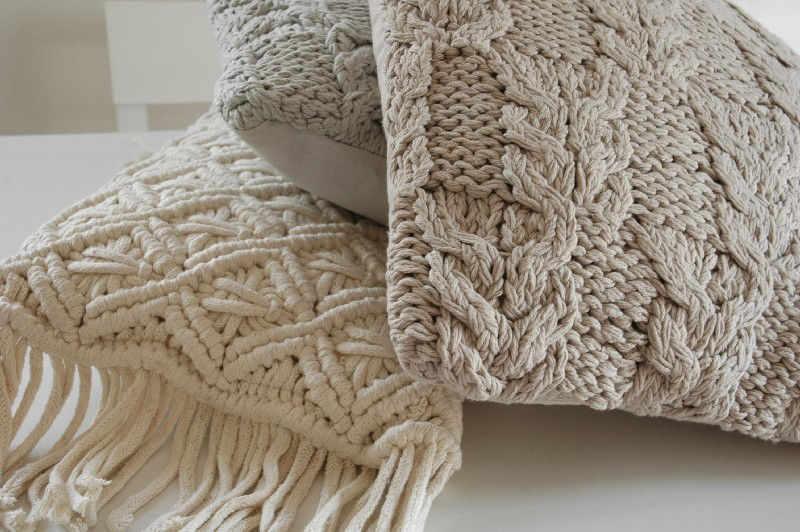 Kussen Wit 8 : Gebreide sierkussens perfect gebreid kussen cover brei patroon