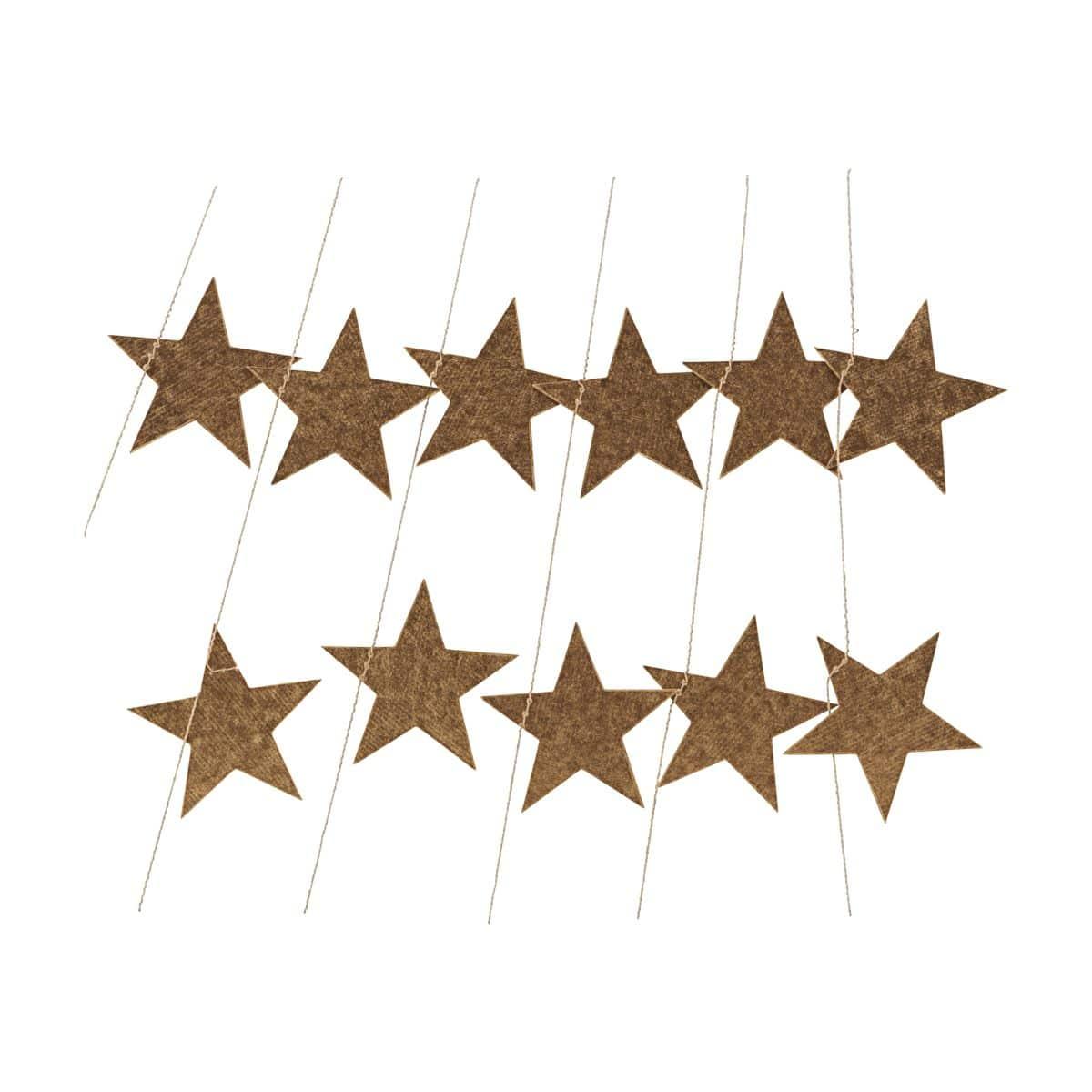 House Doctor slinger Stars goud 500