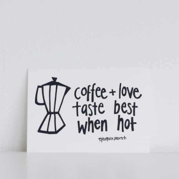 ubuntu kaart coffee love