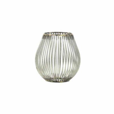 Waxinelicht Venade antiek zilver 11