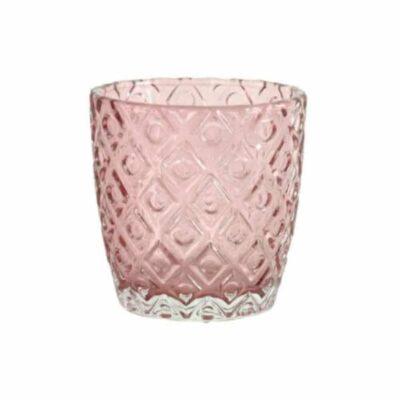 Goround waxinehouder Rumbrum roze