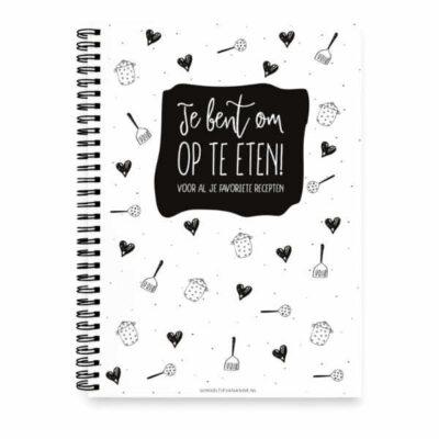 Winkeltje van Anne Recepten invulboek