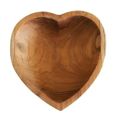MaduMadu houten kom Hart