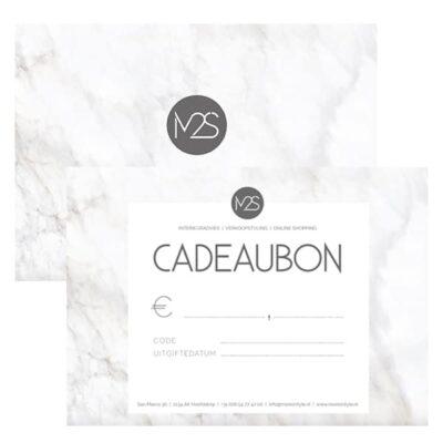 More2Style Cadeaubon