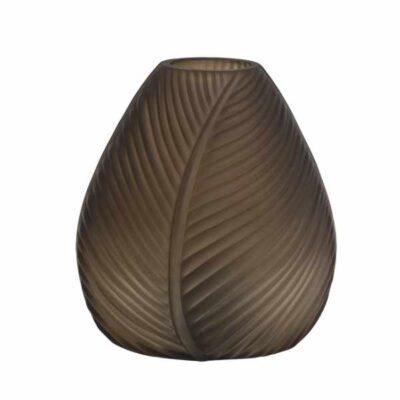 LED Tafellamp Leaf bruin mat