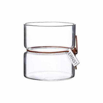 ERNST Waxinelicht Glas 8