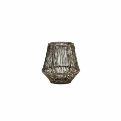 Windlicht Vitu antiek brons 12