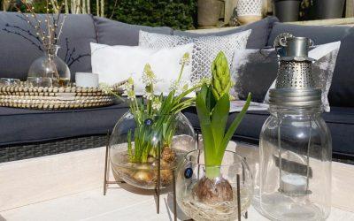Maak jouw tuin dit voorjaar gezellig met buiten accessoires