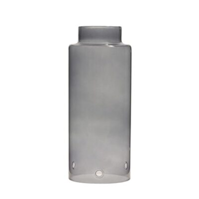 Storefactory Storm grijze glascilinder met rand