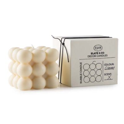 Bubbel kaars cream