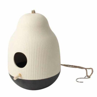Gusta vogelhuisje wit